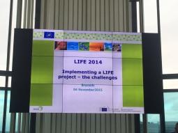 Reunión de lanzamiento de los proyectos LIFE14 en Bruselas