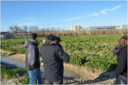 EEAD-CSIC and CAA visit farms where small and large-scale trials will take place