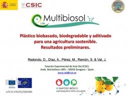 Se presenta el proyecto en el Simpósio Ibérico de Maturação e Pós-Colheita