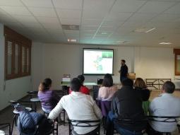 Multibiosol en Jornada sobre Agricultura Ecológica en Aniñon