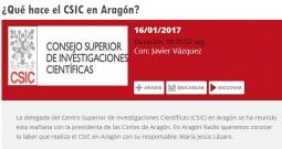 Entrevista a la delegada del CSIC en Aragón