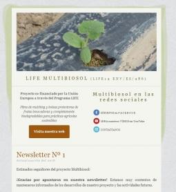 ¡Multibiosol lanza su primer boletín informativo!