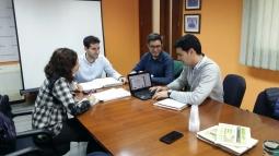 Reunión técnica para planificar los próximos ensayos precosecha