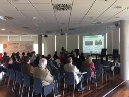 El sector agroalimentario de Ejea conoce de primera mano el proyecto MULTIBIOSOL