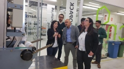 Los socios se reúnen en Zaragoza con la monitora externa y el consejero oficial del proyecto