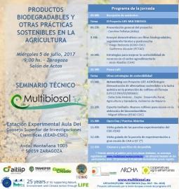 Invitación al Seminario Técnico en Zaragoza