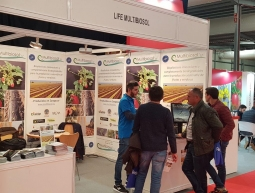 Multibiosol stand at FIMA
