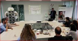 El equipo de Multibiosol visitan a la empresa Compost Bag en Bélgica