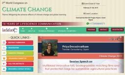 Transfer presenta en la cumbre mundial sobre el cambio climático