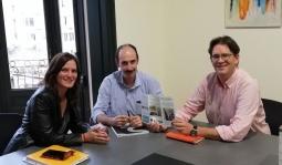 Multibiosol reunido con Saiolan de País Vasco
